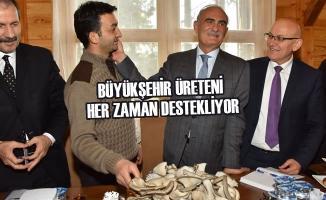 """Başkan Yılmaz: """"Terme'de Sorunlar Çözüme Kavuşuyor"""""""