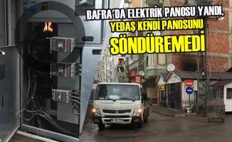 Elektrik Panosu Yandı, Yedaş Kendi Panosunu Söndüremedi