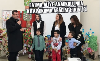 Fatma Aliye Anaokulu'nda 'Kitap Okuma Ağacım' Etkinliği