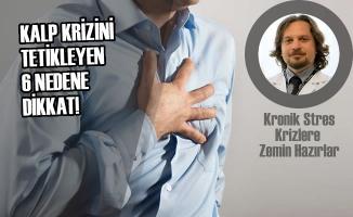 Kalp Krizini Tetikleyen 6 Nedene Dikkat!