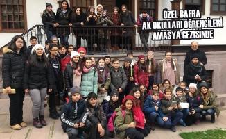 Özel Bafra AK Okulları Öğrencileri Amasya Gezisinde