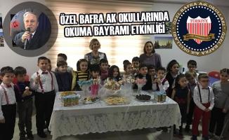 Özel Bafra AK Okullarında Okuma Bayramı Etkinliği