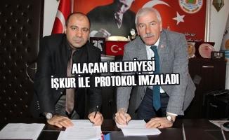Alaçam Belediyesi; İŞKUR İle Protokol İmzaladı