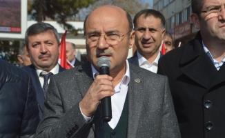 Çorum'da Zeytin Dalı Harekatı'na destek