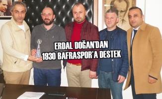 Erdal Doğan'dan 1930 Bafraspor'a Destek
