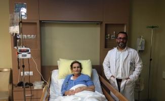 Kosovalı hasta Türkiye'de şifa buldu