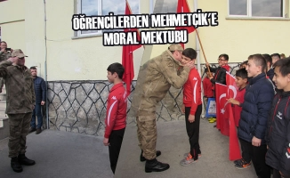 Öğrencilerden Mehmetçik'e Moral Mektubu
