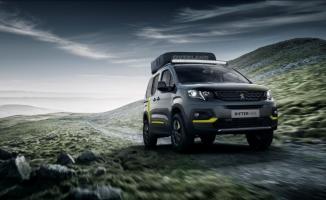 Peugeot RIFTER 4x4 Concept, markanın yenilikçi ürün çözümlerini sunuyor