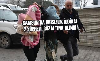 Samsun'da Hırsızlık İddiası; 2 Şüpheli, Gözaltına Alındı