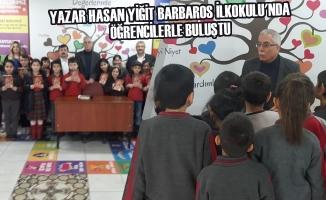 Yazar Hasan Yiğit Barbaros İlkokulu'nda Öğrencilerle Buluştu