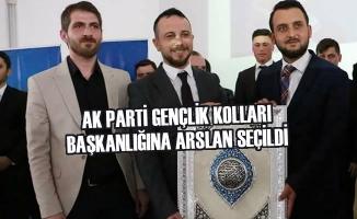 AK Parti Gençlik Kolları Başkanlığına Arslan Seçildi