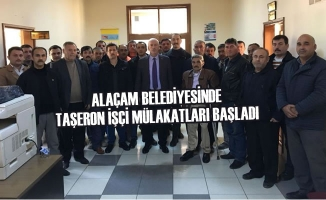 Alaçam Belediyesinde Taşeron İşçi Mülakatları Başladı