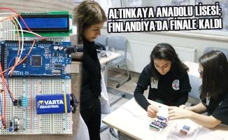 Altınkaya Anadolu Lisesi; Finlandiya'da Finale Kaldı