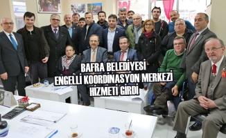 Bafra Belediyesi Engelli Koordinasyon Merkezi Hizmeti Girdi