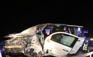Bolu'da trafik kazası: 2 ölü, 3 yaralı