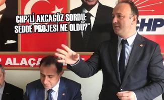 """CHP'li Akcagöz Sordu: """"Sedde Projesi Ne Oldu?"""""""