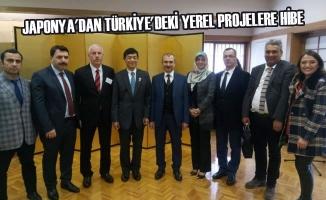 Japonya'dan Türkiye'deki Yerel Projelere Hibe