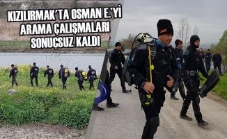 Kızılırmak'ta Osman E.'yi Arama Çalışmaları Sonuçsuz Kaldı