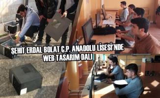 Şehit Erdal Bolat Ç.P. Anadolu Lisesi'nde Web Tasarım Dalı