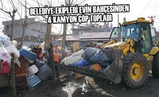 Terme Belediyesi'nin Çevre Temizliği Çalışmaları