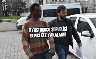 Uyuşturucu Şüphelisi İkinci Kez Yakalandı