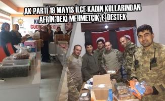 19 Mayıs İlçesinden Afrin'e Destek