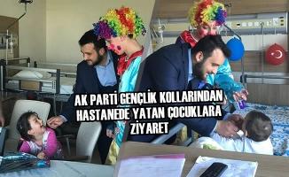 AK Parti Gençlik Kollarından Hastanede Yatan Çocuklara Ziyaret
