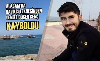 Alaçam'da Balıkçı Teknesinden Denize Düşen Genç Kayboldu