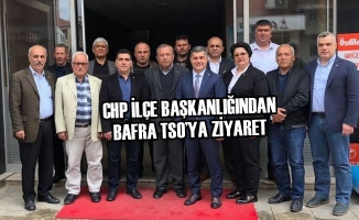 CHP İlçe Başkanlığından Bafra TSO'ya Ziyaret