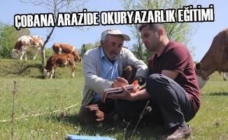 Çobana Arazide Okuryazarlık Eğitimi