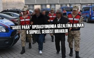 """""""Sahte Para"""" Operasyonunda Gözaltına Alınan 6 Şüpheli, Serbest Bırakıldı"""