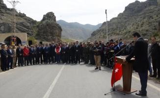 Şehit polis adına hatıra ormanı oluşturuldu