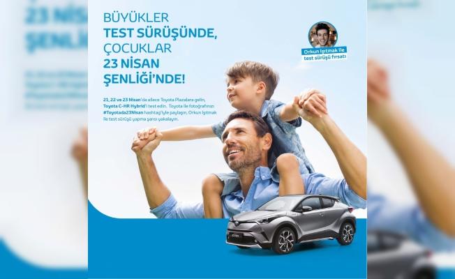 Toyota'dan çocuklara 23 Nisan sürprizi