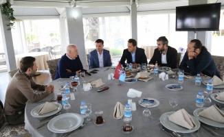 TSYD Trabzon Şubesi yöneticilerinden, Trabzonspor'a ziyaret