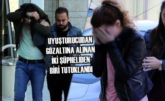 Uyuşturucudan Gözaltına Alınan İki Şüpheliden Biri Tutuklandı