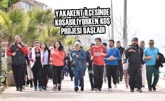 Yakakent İlçesinde Koşabiliyorken Koş Projesi Start Aldı