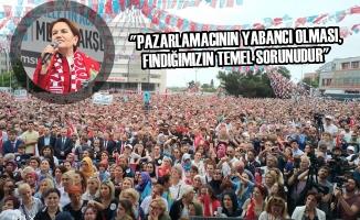 İYİ Parti Genel Başkanı Meral Akşener Samsun'da Konuştu