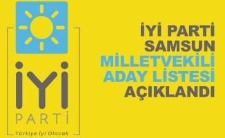 İYİ Parti Samsun Milletvekili Aday Listesi Açıklandı