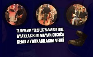 Samsun'da Tramvayda İnsanlık Dersi