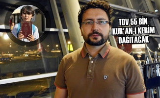 TDV 55 Bin Kur'an-ı Kerim Dağıtacak