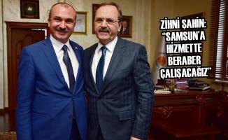 Vekil Kırcalı'dan Başkan Şahin'e Hayırlı Olsun Ziyareti