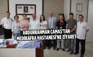 Abdurrahman Çamaş'tan Medibafra Hastanesi'ne Ziyaret