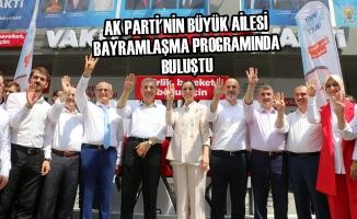 AK Parti'nin Büyük Ailesi Bayramlaşma Programında Buluştu