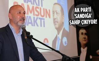 AK Parti Samsun İl Yönetimi İşi Sıkı Tutuyor