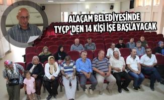 Alaçam Belediyesinde TYÇP'den 14 Kişi İşe Başlayacak