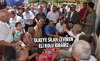 """Bakan Demircan:""""Ülkeye Silah Çeviren Eli Kolu Kırarız"""""""