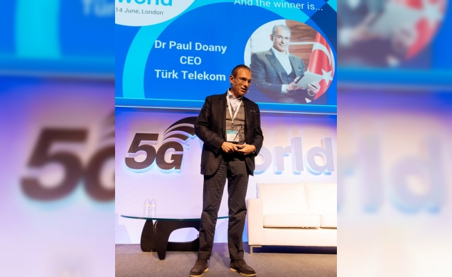 Doany, yılın telekom operatörü yöneticisi seçildi
