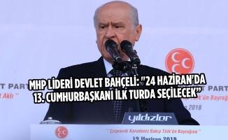 MHP Genel Başkanı Devlet Bahçeli Samsun'da