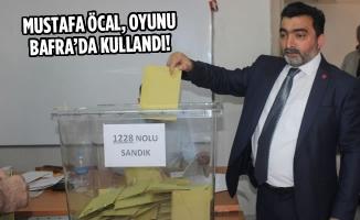 Mustafa Öcal, Oyunu Bafra'da Kullandı!