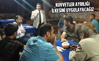 Öcal: Saadet İktidarında Ankara'da Hâkimler Var Denilecek!